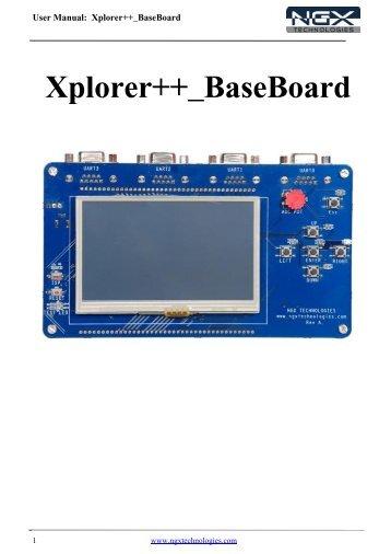 Xplorer++_ BaseBoard
