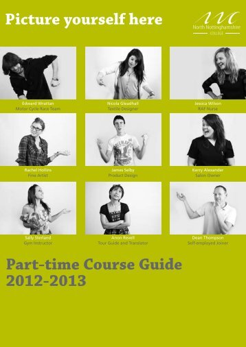 Course Guide 2012.indd - North Nottinghamshire College
