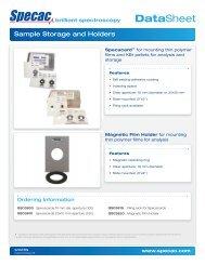 Sample Holders & Storage - Specac