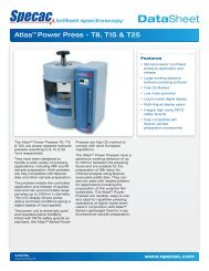 Atlas Power Press - Specac