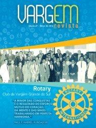 Vargem em Revista, Rotary Club de Vargem Grande do Sul - Março, 2015 - Edição 27