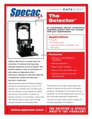 The Selector™ - Specac