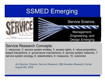 Services Hierarchy And Service Systems Research - Department of ...