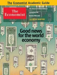 The Academic Guide to the The Economist.