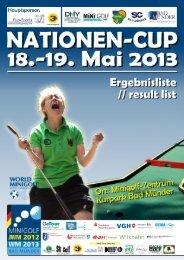 Official result list (pdf) - Minigolf in Bad Münder
