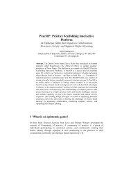 PracSIP: Practice Scaffolding Interactive Platform - Jeppe Bundsgaard