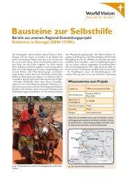 Kathiotte in Senegal (SEN-171981) Bausteine zur ... - World Vision