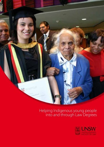 Helping Indigenous Students - UNSW Law