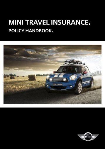 mini travel insurance. - MINI Cherished