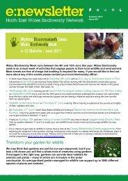 Summer 2011 - Denbighshire Countryside Service