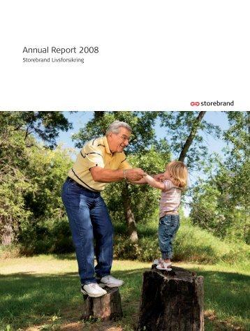 Annual Report 2008 - Storebrand
