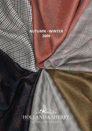 AUTUMN - WINTER 2009 - Holland & Sherry