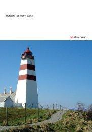 ANNUAL REPORT 2005 - Storebrand
