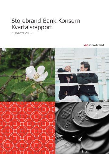 3. kv. 2005 Norsk - Storebrand