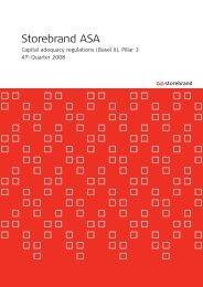 Basel II 4Q 2008 Eng.qxd - Storebrand