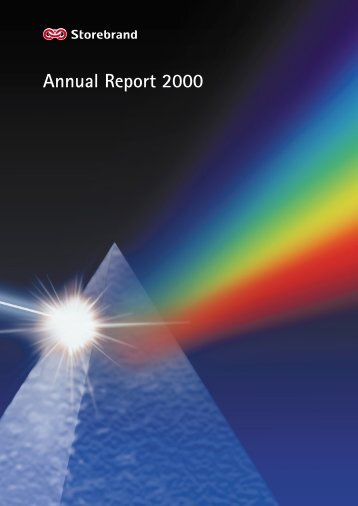 Annual Report 2000 - Storebrand