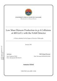 Low Mass Dimuon Production in pA Collisions at 400 GeV/c with the ...
