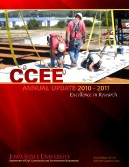 2010-11 - Civil, Construction, and Environmental Engineering - Iowa ...