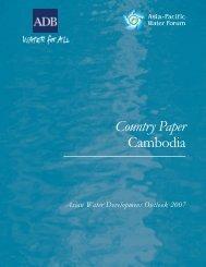Download Adb country paper cambodia 2007 (PDF) - wsscc
