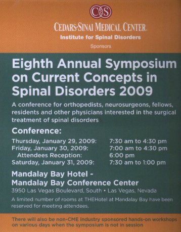 Eighth Annual symposium - Christopher Zarembinski