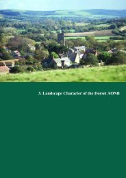 3. Landscape Character of the Dorset AONB