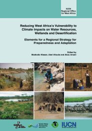 Reducing West Africa's Vulnerability to Climate Impacts on ... - IUCN