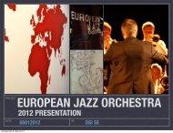 2012 PRESENTATION - dsi swinging europe