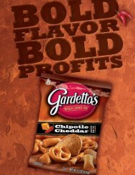 Gardetto's Original is the #1 Warehouse Salty Snack in C-Stores!