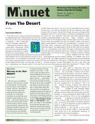 From The Desert - Motivational Interviewing