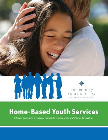 Home-Based Youth Services Brochure - Community Solutions Inc.