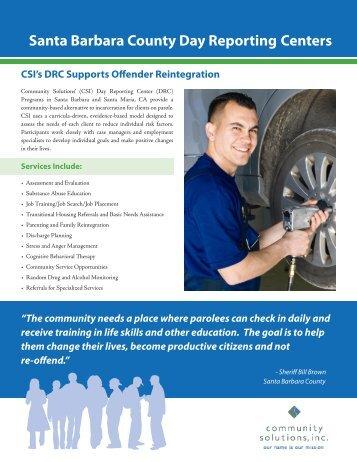 Download our Santa Barbara County DRC brochure. - Community ...
