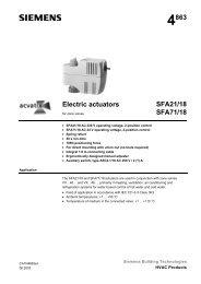 4863 Electric actuators SFA21/18 SFA71/18