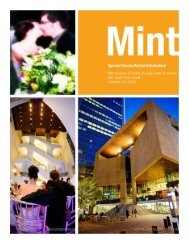 The heart of charlotte's uptown, the mint - Mint Museum