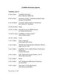 + Agenda - Modeling, Analysis, and Prediction (MAP) - NASA