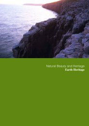 Natural Beauty and Heritage Earth Heritage - the Dorset AONB