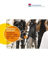 Respectful RepoRting: Victims of Violent cRime media stRategy ...