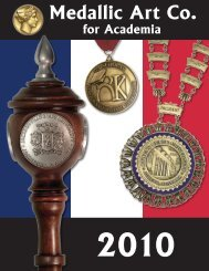 (3.4 MB) PDF version of this catalogue - Medallic Art Company