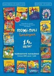 TÁJÉKOZTATÓ KATALÓGUS - romisuli könyvkiadó