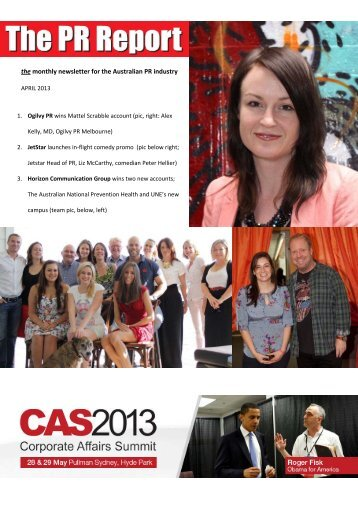 The PR Report_April 2013_for ISSUU