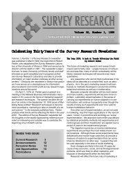 No. 1 - Survey Research Laboratory - University of Illinois at Chicago