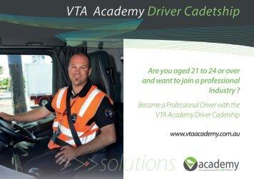Driver Postcard - VTA Academy