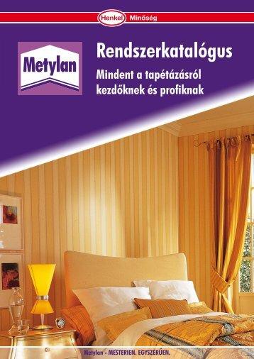 Metylan rendszerkatalógus