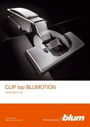 CLIP top BLUMOTION prospektus
