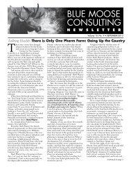 BMC Newsletter, Vol. 10, Issue 9 - September 2013 - Blue Moose ...