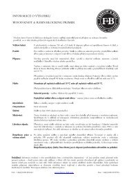 informace o výrobku základní nátěr na překrývání ... - Farrow & Ball