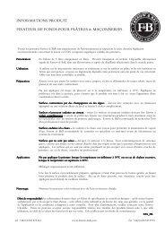 Fixateur de Fonds (pdf) - Farrow & Ball
