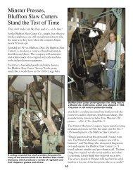 vol 34 no 1 2005.indd - Minster Machine Company