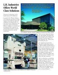 L.H. Industries - Minster Machine Company