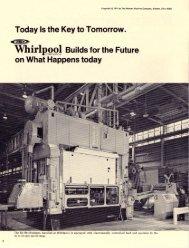 'Whirl - Minster Machine Co.