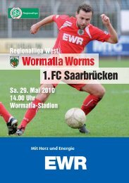 29.05.2010 1.FC Saarbrücken - Wormatia Worms